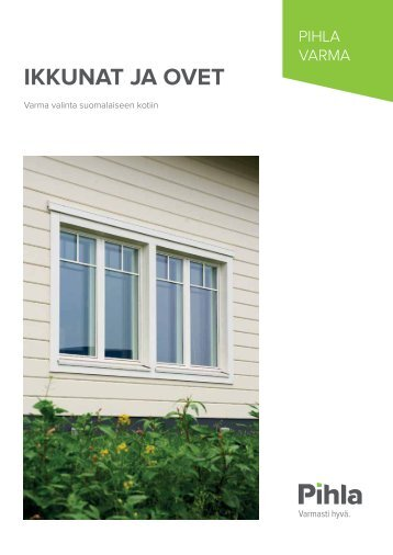Pihla Varma ikkunat ja ovet