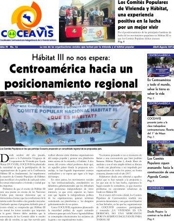 Centroamérica hacia un posicionamiento regional