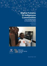 Digital Futures in Indigenous Communities