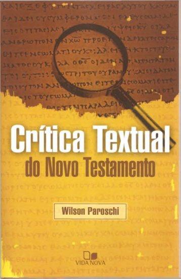 Critica-Textual-do-Novo-Testamento