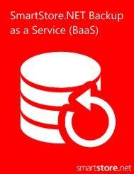 SmartStore.NET Backup as a Service (BaaS) v1.0