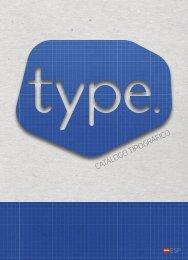 Type. Catálogo Tipográfico