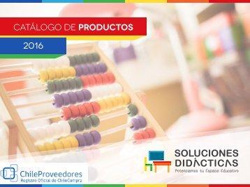 Catalogo Soluciones Didácticas 2016