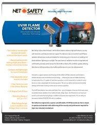 Ultraviolet Infrared UV/IR Flame Detector - Imbema Controls