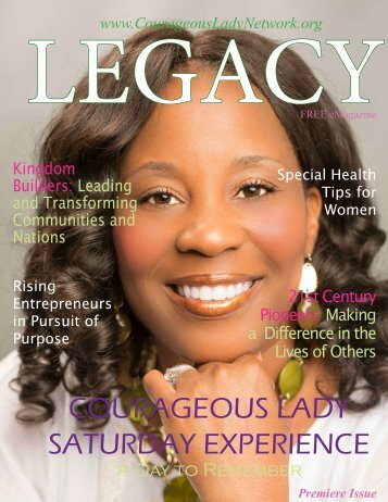 Legacy Magazine Premiere Summer/Fall Issue 2016