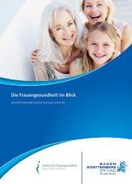 Die Frauengesundheit im Blick - Baden-Württemberg Stiftung