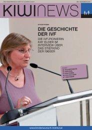 DIE GESCHICHTE DER IVF - Das Kinderwunsch Institut Schenk
