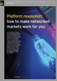 Platform revolution how to make networked markets work for you