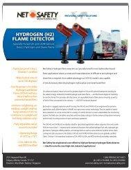 hydrogen (h2) flame detector - Imbema Controls