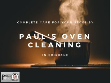 Paul's Oven Cleaning Brisbane
