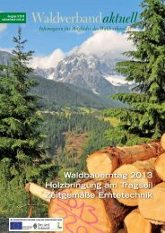 Waldverband Aktuell - Ausgabe 2013-03