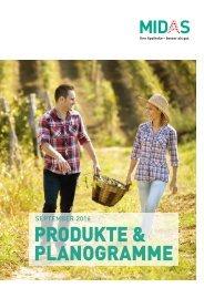 MIDAS Produkte und Planogramme September 2016