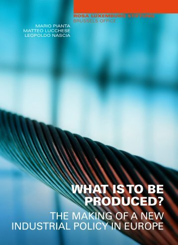 What is TO BE produced?