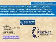 Global Marine Composites Market Worth USD 2.0 Billion by 2021