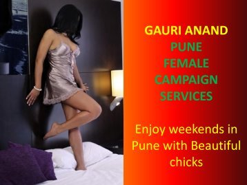 Get enjoy your weekends with independent Pune escorts!