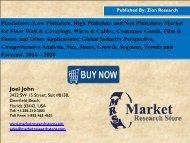Global Plasticizer Market is Set for Rapid Growth, to Reach Around USD 19.82 Billion by 2020