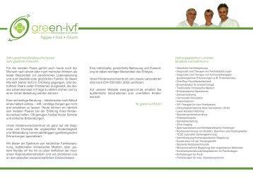 Tigges • Friol • Gnoth - green-ivf, Kinderwunsch ...