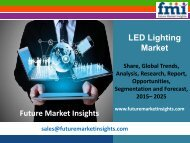 LED Lighting Market Forecast and Segments, 2015-2025