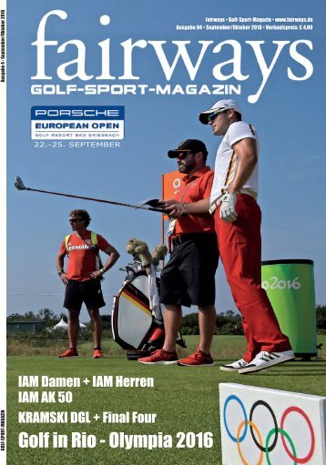 Fairways Ausgabe 4/2016
