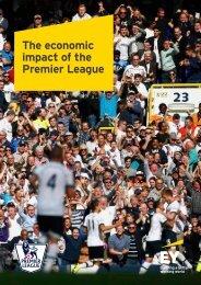 The economic impact of the Premier League