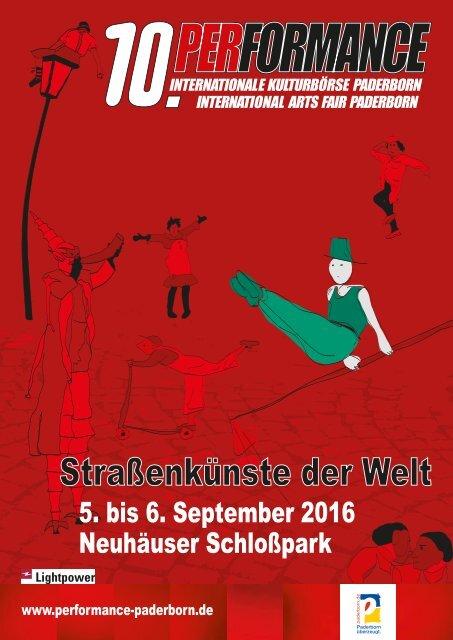Messe-Katalog Performance 2016