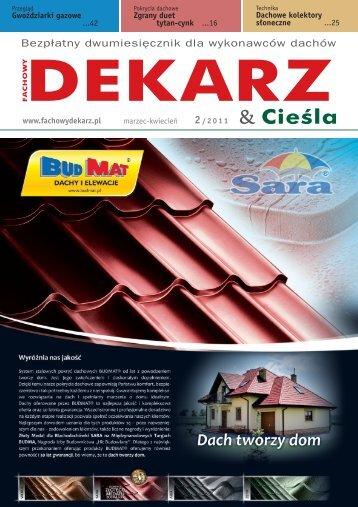 Fachowy Dekarz & Cieśla 2011-2