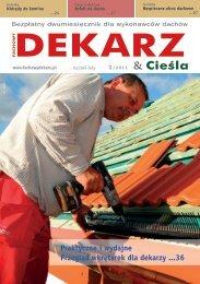 Fachowy Dekarz & Cieśla 2011/1
