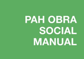 PAH OBRA SOCIAL MANUAL