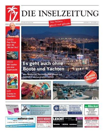 Die Inselzeitung Mallorca September 2016