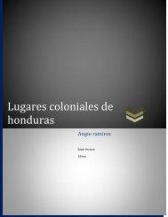 Lugares coloniales de honduras