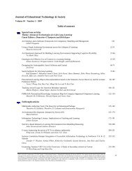 Special issue articles Theme: Advanced Technologies for Life-Long ...