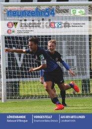 neunzehn54, Doppelausgabe Alemannia Aachen-FC Schalke 04 U23, Heft 4, Saison 2016/17