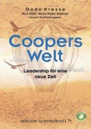 Coopers Welt - Leadership für eine neue Zeit - Leseprobe ISBN 9783950423303