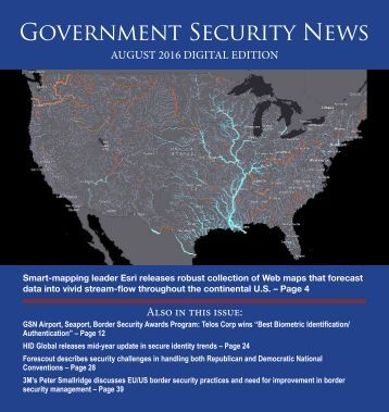 Government Security News August Digital Edition
