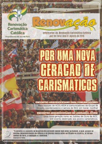 Informativo RCC - Agosto de 2016