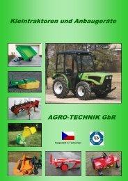 Katalog Kleintraktoren und Arbeitsgeräte 2015