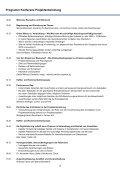 Programm Projektentwicklung - Page 3
