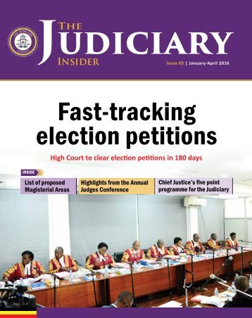 Fast-tracking election petitions
