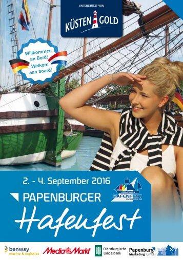 Hafenfest Papenburg 2016