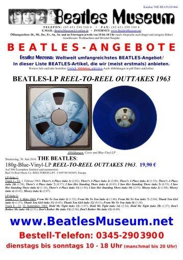 Beatles Museum - Katalog 66 mit Hyperlinks