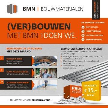 BMN krant - (ver)bouwen met bmn > doen we. Uitgave september 2016