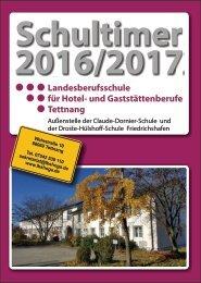 Schultimer der Landesberufsschule für Hotel- und Gaststättenberufe Tettnang 2016/2017