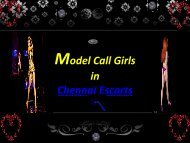Model Call Girls in Chennai Escorts