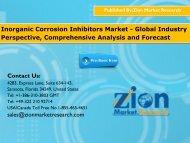 Inorganic Corrosion Inhibitors Market