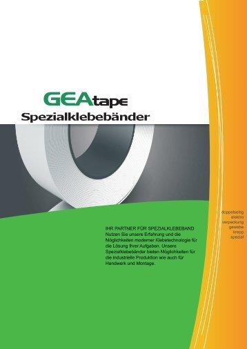 GEAtape Katalog 2016