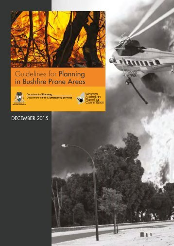 Guidelines for Planning in Bushfire Prone Areas