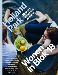 Holland Park - brochure blok 18