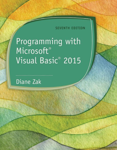 Programming with Microsoft Visual Basic 2015 [-PUNISHER-]