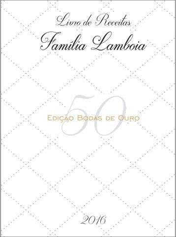 RECEITAS LAMBOIA