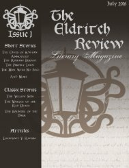 The Eldritch Review: Literary Magazine - Issue 1